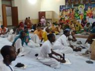The Holy Name Retreat in Govardhan
