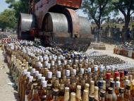 Liquor shops in Govardhan Parikrama