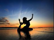 Real yoga system means to control the senses