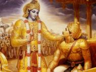The Advent of the Bhagavad-gita
