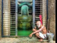 Hampi Badavilinga Temple