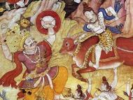 Lord Siva Attacks Andhaka