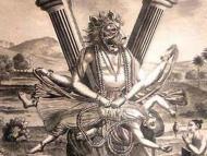 India Through the Eyes of Europe - Lord Nrsimha