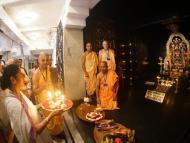 Minister Mamata Banerjee visited Iskcon Mayapur