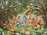 There is no question of enmity between Krishna's servants