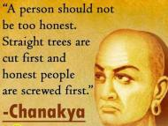 The Story of Chanakya's Death