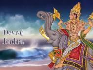 INDRA (GOD OF THUNDER AND LIGHTNING)