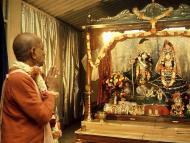 Celebrating the Juhu Temple Opening