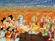 The Disappearance of Bhismadeva
