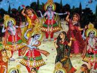 Balarama Rasayatra and Sri Krsna Vasanta Rasa