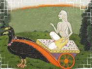 The goddess Dhumavati
