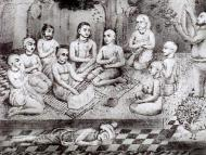 King Prataparudra's Painting of Lord Caitanya