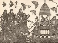 Calcutta Woodcuts, Part 6