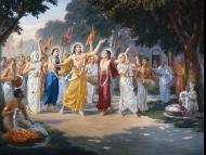 References to the Hare Krsna Maha-mantra