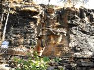 Lord Narasimha Bursts from the Rock at Dudhai