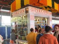 ISKCON Book Shop Opens at New Delhi Railway Station