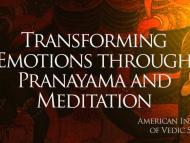 Transforming Emotions through Pranayama and Meditation
