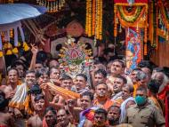 Rath Yatra Celebrated Without Devotees at Puri