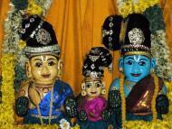 Lord Caitanya's Jagannath Deities