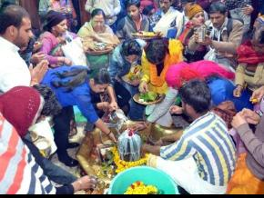 Vrindavan's ancient Shiva temples