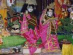 Navadvip  - Caitanya Saraswath Math, deities 1.jpg
