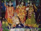 Navadvip  - Caitanya Saraswath Math, deities 2.jpg