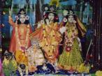 Navadvip  - Caitanya Saraswath Math, deities.jpg