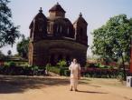 Vishnupur Syam Rai temple and my.jpg
