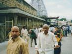 Tirupati Balaji temple complex and waiting line.jpg
