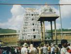 Tirupati Balaji temple complex and waiting line1.jpg