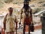 Guwahati - Vasistha ashram and my.jpg