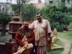 Vrindavan, Paramadvaiti Swami and my.jpg