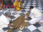 Radha Raman temple Go puja 040.jpg