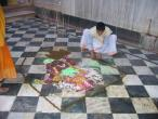 Radha Raman temple Go puja 044.jpg