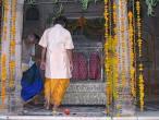 Radha Raman temple Go puja 048.jpg