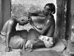 Barber in India c1950's.jpg