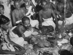 Brahman wedding ceremony India 1946.jpg