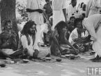 Feast in the village of Gaonkhera1962.jpg