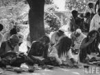 Indian holy men village of Gaonkhera 1962.jpg