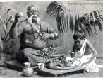 Indian Priest Taking Dinner with his Pupil, 1910.jpg