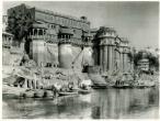 Palaces on the Ganges, Varanasi,1928.jpg