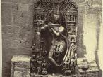 Relief sculpture representing Krishna 1865.jpg