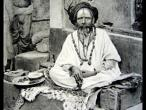 Sadhu in front of his cell 1928.jpg