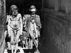 Sadhus in the streets of Mathura 1950.jpg
