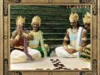 Villa Vrindavana - Museum paintings, Cheting dices.jpg