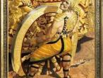 Villa Vrindavana - Museum paintings, Deadly wheel.jpg