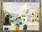Villa Vrindavana - Museum paintings, Dwaraka.jpg