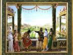 Villa Vrindavana - Museum paintings, Indraprastha.jpg