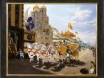 Villa Vrindavana - Museum paintings, Strange charioteer.jpg