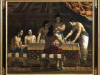 Villa Vrindavana - Museum paintings, Tent.jpg
